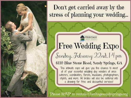 Heritage Sandy Springs Wedding Expo