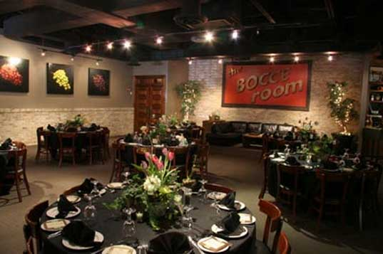 The Bocce Room at Ippolito's in Roswell