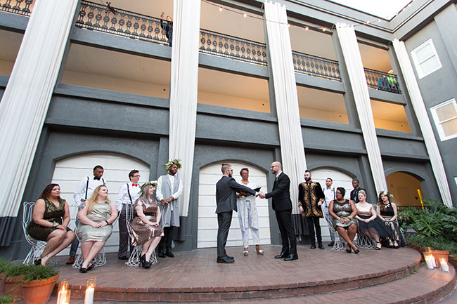Jose and Levi LGBT Wedding at The Brice Savannah