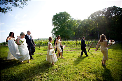Real Weddings: Becca and Brent at Montaluce Winery