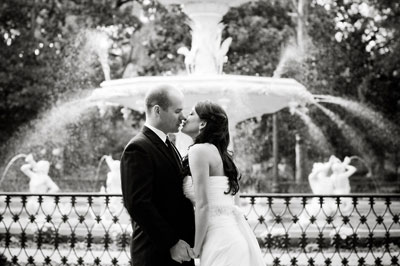 Real Savannah Wedding: Amy and Rob at Reynolds Square and The Olde Pink House