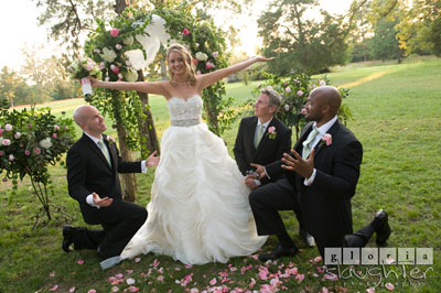 Real Atlanta Wedding: Karen & William Choose Lake Oconee Venue Washington Grass Inn
