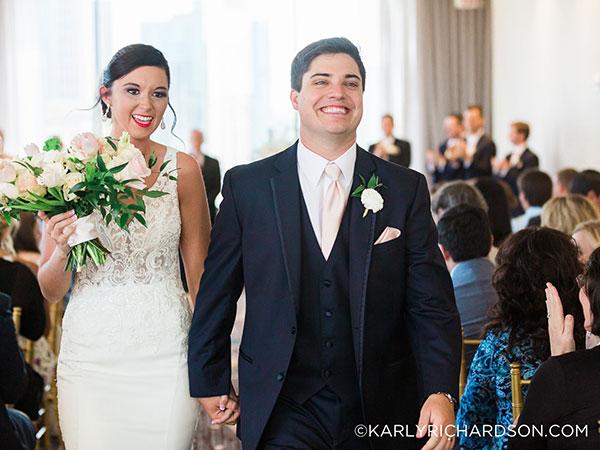 Real Atlanta Wedding: Sydnie & Tyler Plan Wedding in 2 Days Due to Hurricane Irma Cancellations