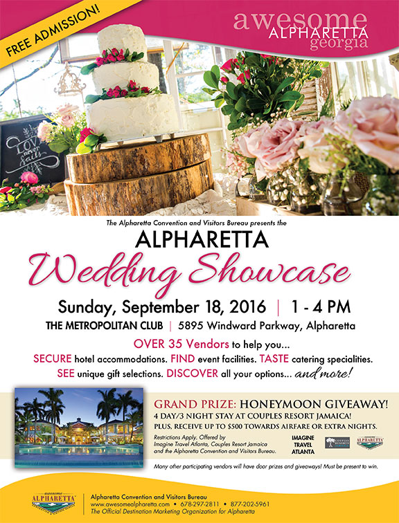 Alpharetta Wedding Showcase